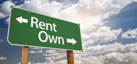 Rent vs Own Image from IBM