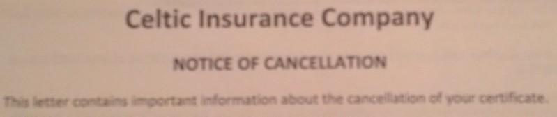 Celtic cancels me