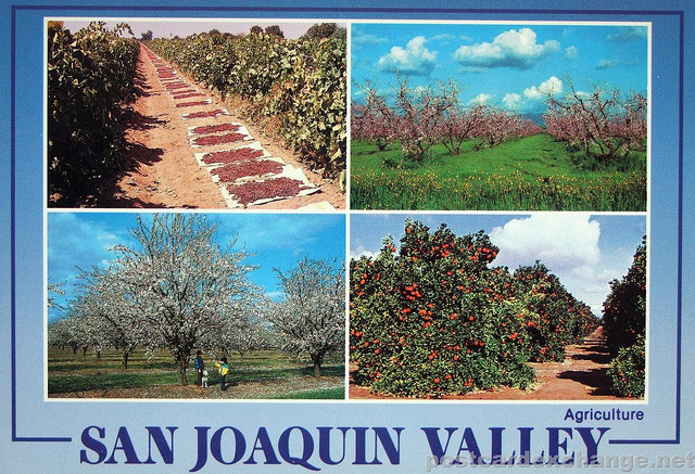 San Joaquin - soon to be NOT known for agriculture